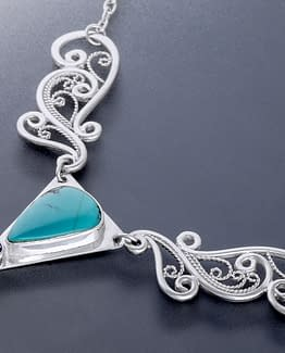 "Laceworks Jewelry ""Wing Pendant"""