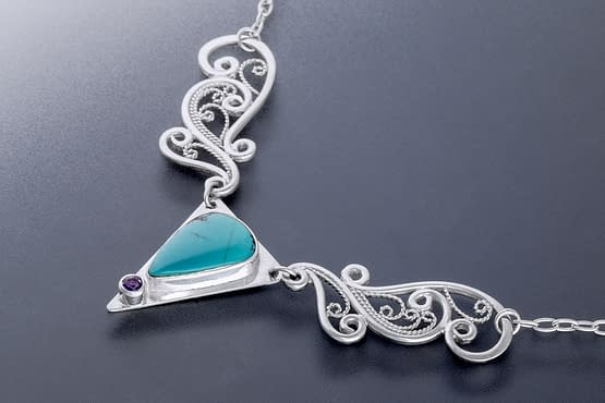 """Laceworks Jewelry """"Wing Pendant"""""""