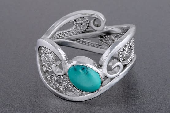 "Laceworks Jewelry ""Storm Ring"""