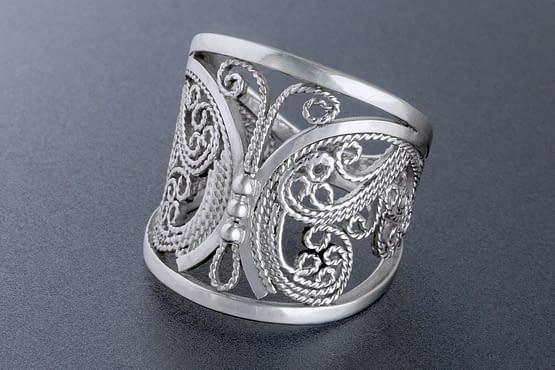 """Laceworks Jewelry """"Butterfly Ring"""""""