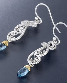"Laceworks Jewelry ""Art Nouveau Earrings"""