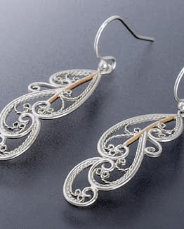 "Laceworks Jewelry ""Feather Earrings"""