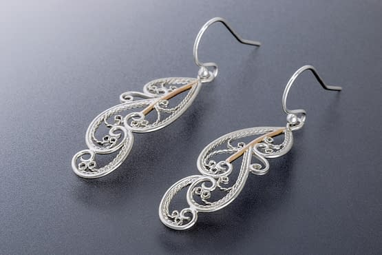 """Laceworks Jewelry """"Feather Earrings"""""""